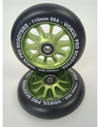 VOKUL 110 мм Alu (зелёный) Колесо для самоката