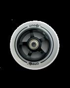 ATEOX 100 мм Alu (чёрный / белый) Колесо для самоката