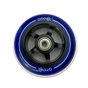 ATEOX 100 мм Alu (чёрный / синий) Колесо для самоката