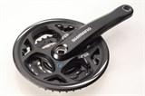 Система велосипедная Shimano Altus, 21-24скорости, 42/32/22, 170мм, EFCM311C222CL